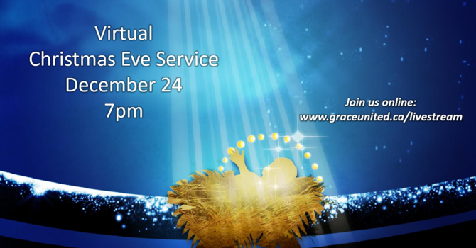 Virtual Christmas Eve Service image