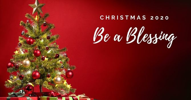 """""""Be a Blessing"""" Update & Report image"""