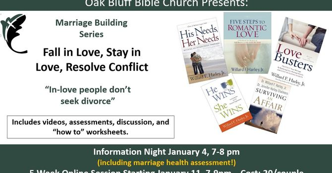 Marriage Building Series - Jan 11-Feb 8, 2021