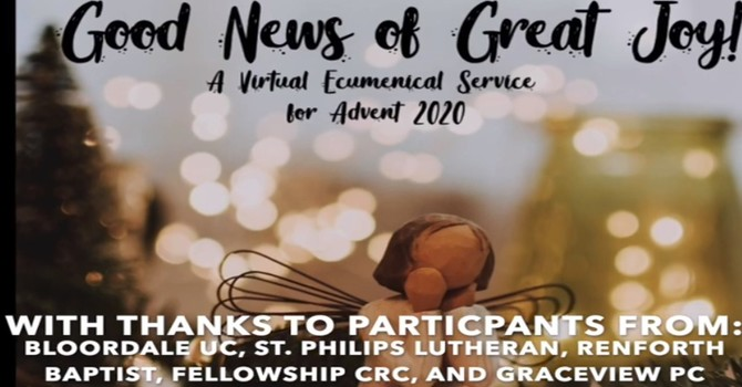 Virtual Ecumenical Advent Worship image
