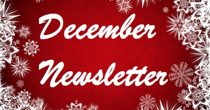 December 2020 Monthly Newsletter image