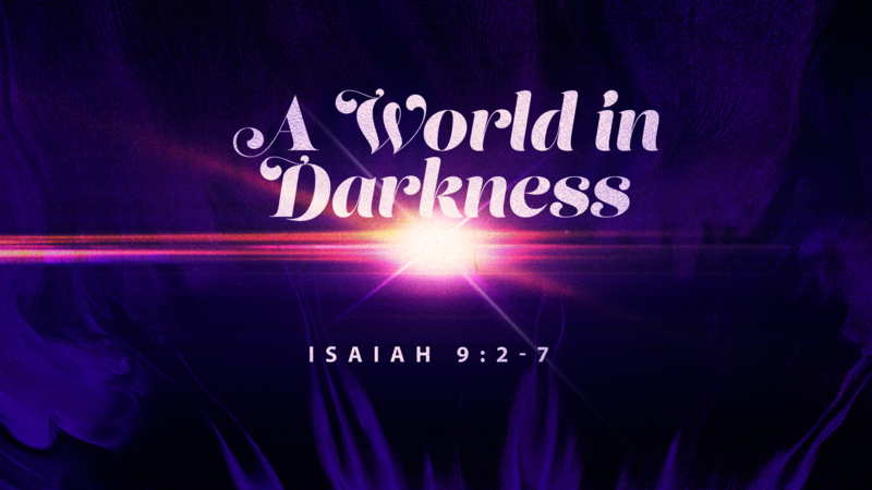 A World in Darkness