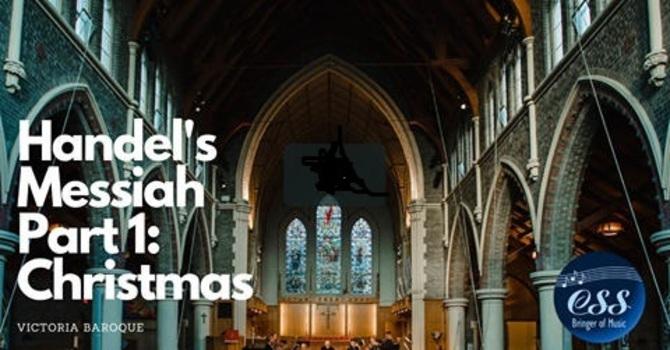 "Victoria Baroque Handel's Messiah ""Christmas"" image"
