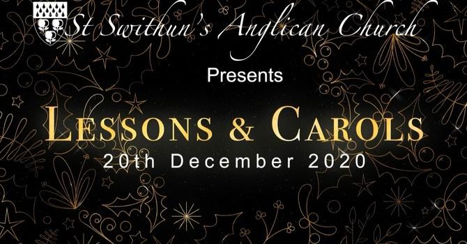 Lessons & Carols Service 20th December 2020
