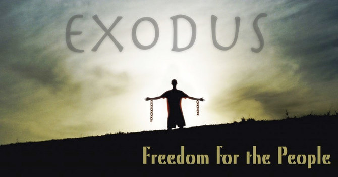 Exodus 1:1-14 and Galatians 5:13-15 image