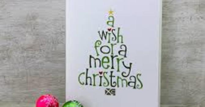 Christmas Cards image