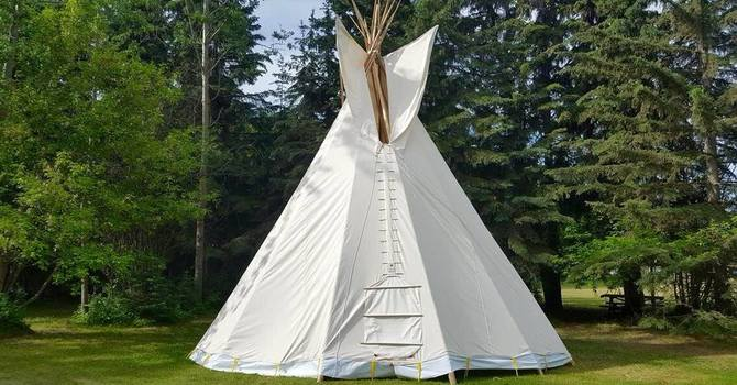 Kasota East Camp Teepee image