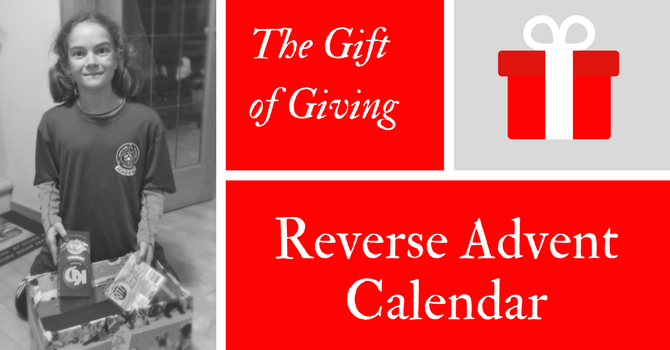 Reverse Advent Calendar - Just Add Kindness image