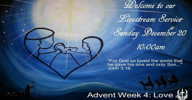Sunday December 20 Livestream Service