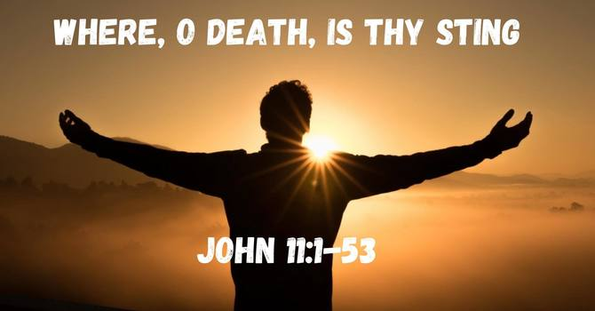 Where, O death, is thy sting