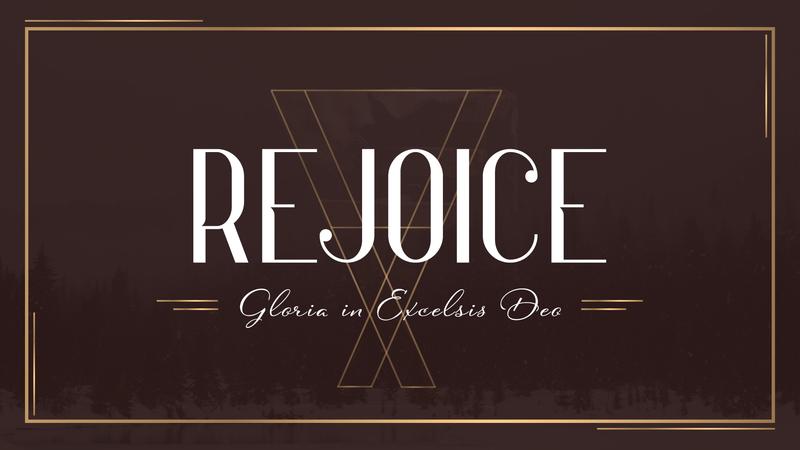 Rejoice | Week 2 | December 20, 2020