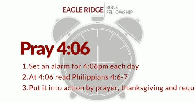 Pray 4:06 Initiative image
