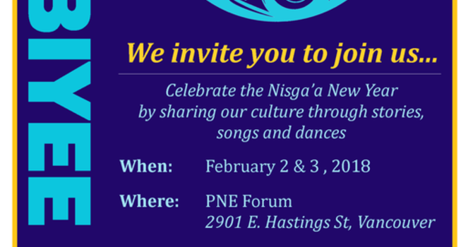 HOBIYEE - NISGA'A NEW YEAR CELEBRATION image