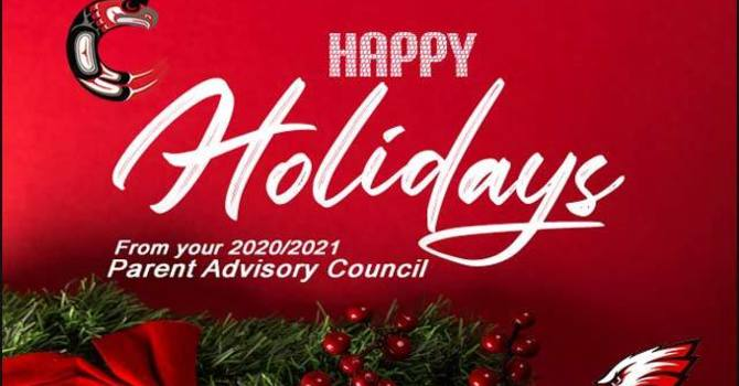 Happy Holiday's From Your Carson Graham PAC image