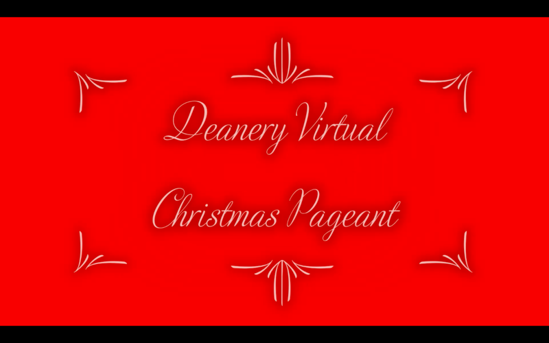 Anglican Deanery of Pembroke Virtual Christmas Pageant