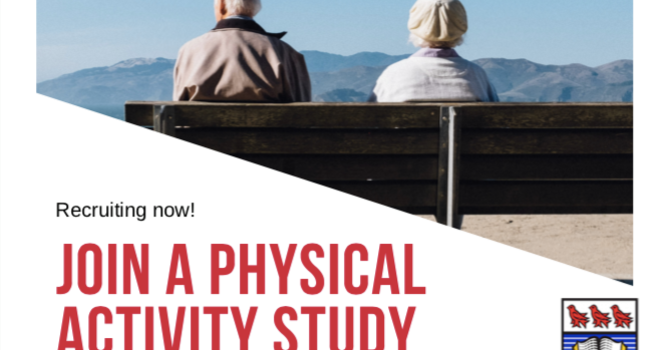 Join a physical activity study image