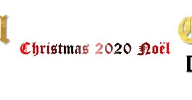 2020 National Bishop Christmas Message  |   Message de Noël de l'évêque national 2020