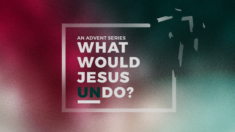 Jesus Came To Undo Indifference