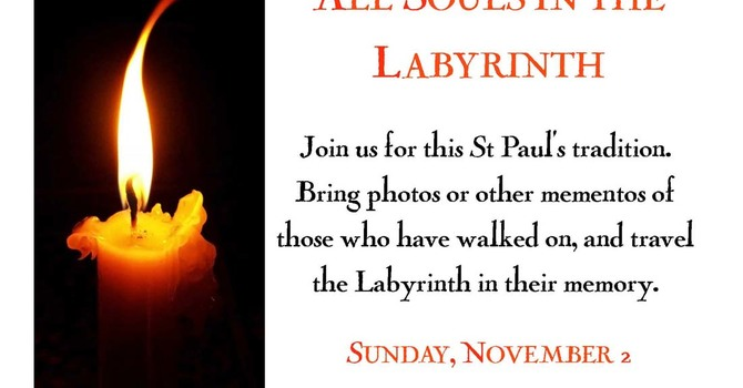 Labyrinth Walk for All Souls at St. Paul's image