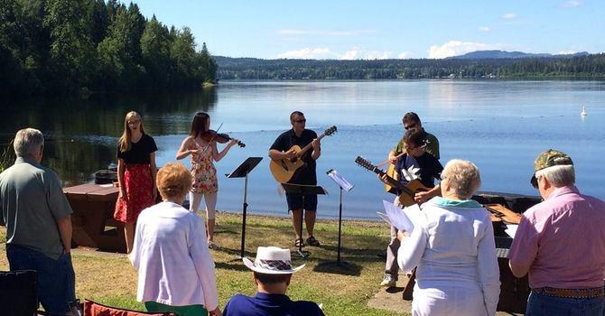 Service at the Lake! image