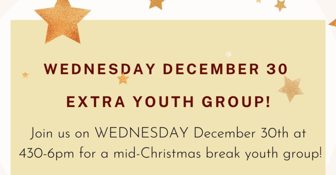 CV Youth Group News  image