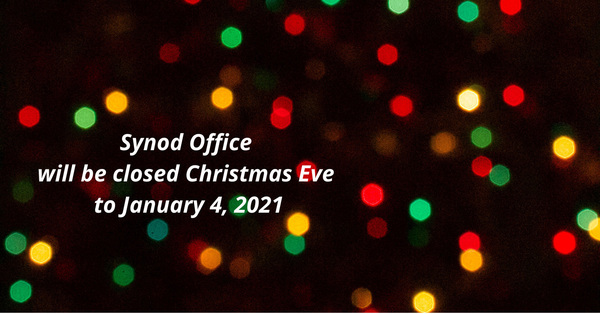 Diocesan Offices Closed for Christmas