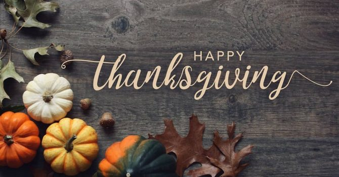 Thanksgiving Donations Requested image