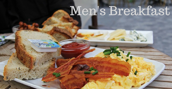 Men's Breakfast - CANCELLED image