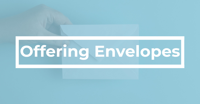Offering Envelopes image
