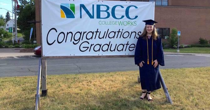 Congratulations to Kristy Brown, 2020 Grad! image