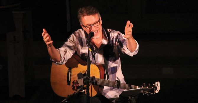 Steve Bell at St. Thomas, Chilliwack image