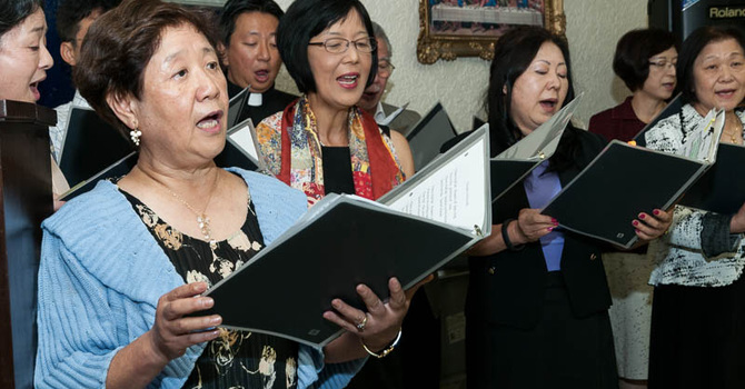 Christmas Sing-along Benefit at Holy Cross, Vancouver image