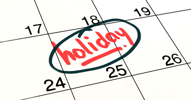 Holidays and Stress image