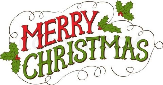 Christmas Eve Service Times  image