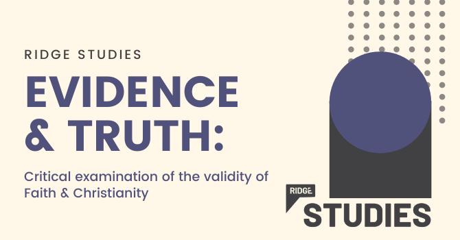 RIDGE Studies (NEW) | Evidence & Truth