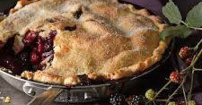 Blackberry Festival Pie Making Bee August 26th  - 9AM image