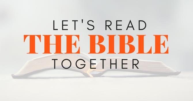 Ebenezer Bible Reading Plan 2021 image