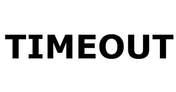 TIMEOUT 2020 image