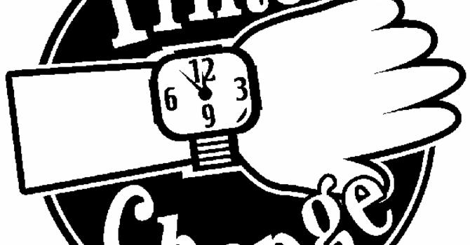 Time Change Sunday
