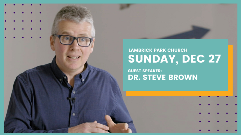 Sunday, December 27 - Sermon