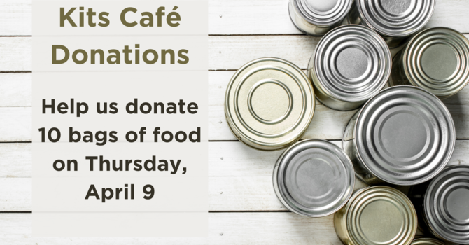 Food Donations Required for April 9 image