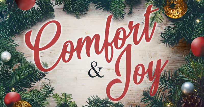 God's Comfort & Joy Make Me Shout for Joy!