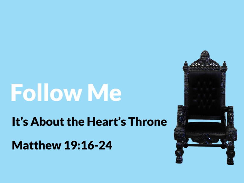 It's About the Heart's Throne