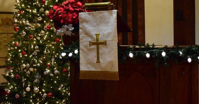 Christmas Eve 2020 Sermon at  St. Luke's Church, 6:30 pm