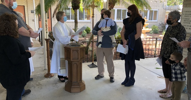 Baptism and Reception of New Members image