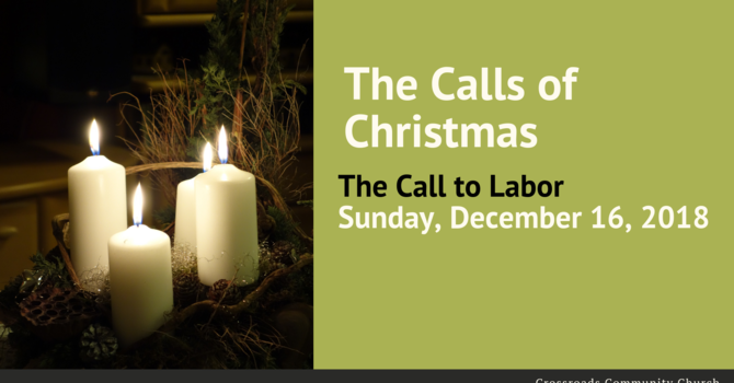 The Call to Labor