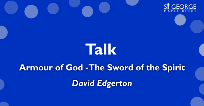 Armour of God - The Sword of the Spirit image