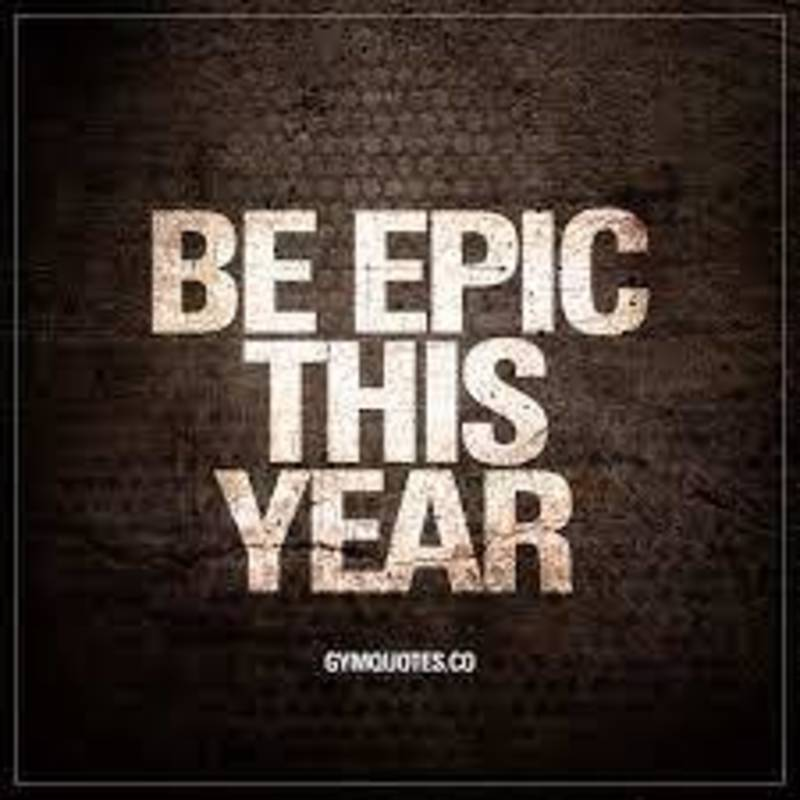 Beginnings of an Epic Year