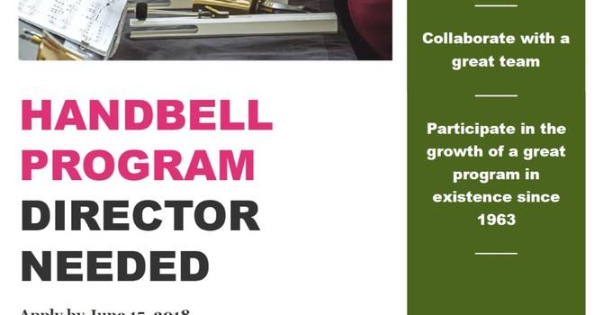 Handbell Program Director Needed image