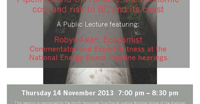 Pipelines and Oil Tankers - Public Lecture image